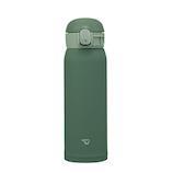 象印(ZOJIRUSHI) ステンレスマグ 480mL SM-WA48 カーキ│水筒・魔法瓶 水筒