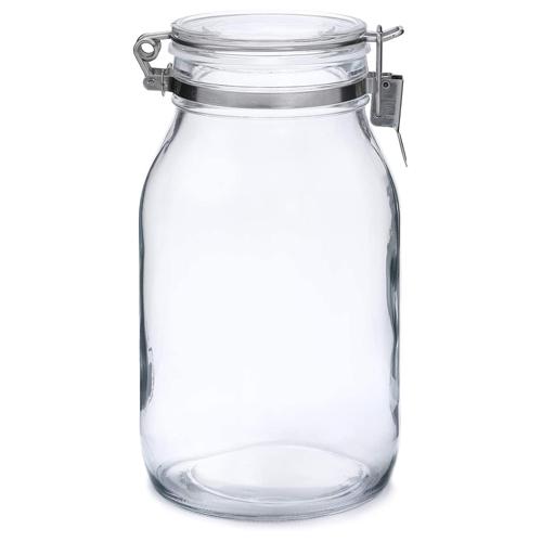 セラーメイト 密封ビン 丸 2L│保存容器 ガラス保存容器