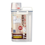 【ハンズメッセ2020】アスベル 密閉米びつ パッキン付 2kg 7509<お届けまで約1〜2週間>
