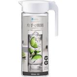 アスベル ドリンクビオ 冷茶ポット S2100L A8258 ホワイト 2.1L