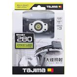 タジマ LEDヘッドライト ホワイト F281D−W ホワイト