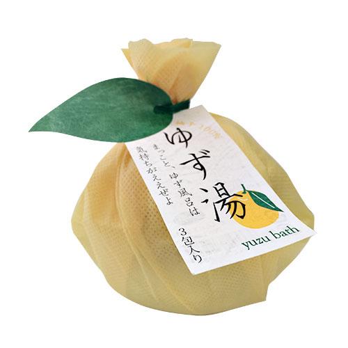ゆず湯 土佐の柚子皮100% 3包セット