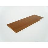 ウッディボード 900×400×17mm ブラウン│合板・べニア板 棚板