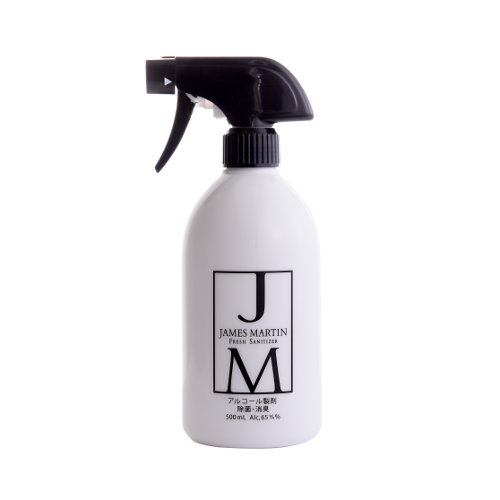 JAMESMARTIN フレッシュサニタイザー スプレー 500ml ※軽減税率対象商品