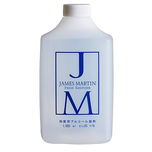 JAMESMARTIN フレッシュサニタイザー 詰め替え用ボトル 1L ※軽減税率対象商品