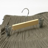 チャーリー 木製スカート用 NS70-02│ハンガー・衣類収納 木製ハンガー