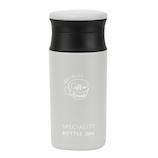 ベストコ コーヒータイム カフェマグボトル 350mL ND-6814 ライトグレー│水筒・魔法瓶 タンブラー型水筒