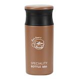 ベストコ コーヒータイム カフェマグボトル 350mL ND-6815 ブラウン│水筒・魔法瓶 タンブラー型水筒