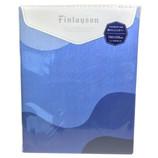 フィンレイソン 掛けふとんカバー シングル FI6652 ブルー