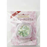 亀島商店 クレイジュエリー レジン用 ジュエリーホログラム 90251 グリーン