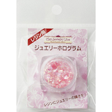 亀島商店 クレイジュエリー レジン用 ジュエリーホログラム 90253 ピンク