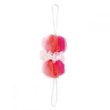 マーナ 背中も洗えるシャボンボール ミックス B873P ピンク