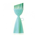 マーナ お弁当箱洗いブラシ K187G グリーン