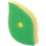 マーナ ポコ 葉っぱ型スポンジ K614G グリーン