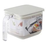 マーナ 調味料ポット ワイド K775 ホワイト│保存容器