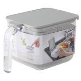 マーナ 調味料ポット ワイド K775 グレー│保存容器