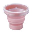 マーナ たためる携帯うがいコップ ピンク