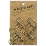 大 ワイヤーWクリップ 4P WDCP−14SV シルバー