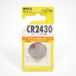 富士通 リチウム・コイン電池 CR2430C(B)N