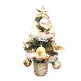 【クリスマス】 フローレックス XTH105 陶器ポットツリー 45cm ゴールド&フェザーガーランドスタイル