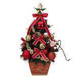 【クリスマス】東急ハンズ限定 陶器ポット 30cm XTH‐121 レッド