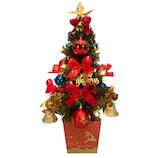 【クリスマス】 東急ハンズ限定 オリジナル陶器ポットツリー 45cm XT-135 マルチ