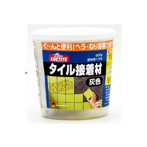 ヘンケルジャパン タイル目地材 灰色 500g