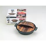 パール金属ストロングマーブル懐石 湯豆腐・すきやき鍋 16cm H-5368