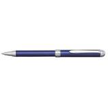 プラチナ ポケット スライドボールペン ブルー