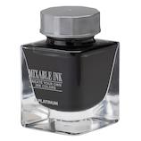 プラチナ(PLATINUM) 万年筆用インク ミクサブルインク ミニ INKM-1000 #1 スモークブラック