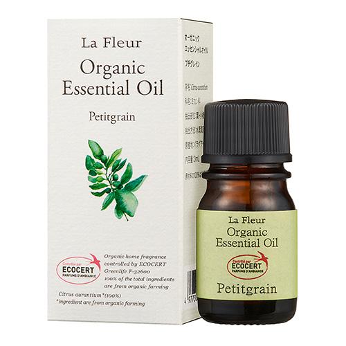 ラ・フルール オーガニック精油成分表付 プチグレイン