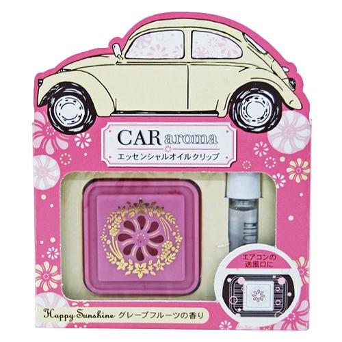CARアロマ ハッピーサンシャイン 幸せ気分グレープフレーツの香り