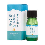 美健 すーっと香る北海道和ハッカ ブレンドエッセンシャルオイル 3ml