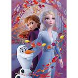 エポック アナと雪の女王2 Elsa&Anna(autumn red) 72‐022 108ピース
