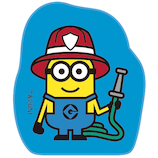 ビバリー てのひらスタンプ ミニオンズ TSW-023 消防士