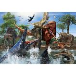 ビバリー ティラノサウルスVSモササウルス 40-006 40ピース