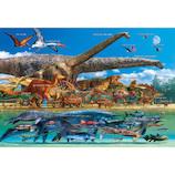 ビバリー 恐竜大きさくらべ・ワールド 40-021 40ピース│パズル ジグソーパズル