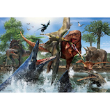 ビバリー ティラノサウルスVSモササウルス L74-168 150ピース