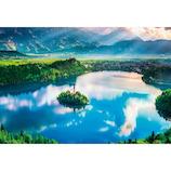 ビバリー ブレッド湖 湖上の小さな教会 M81-875 1000ピース│パズル ジグソーパズル