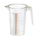 本間冬治工業 弁慶 ポリカーボネイト メジャーカップ HF−618│タイマー・計量器 計量カップ・スプーン
