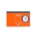 プラス メモローゼ カード横サイズ 無地 ブラッドオレンジ