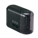 プラス(PLUS) 鉛筆削り(乾電池式) FS−077 ブラック