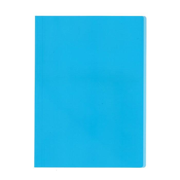 プラス カラーレール式クリアーホルダー 表紙単品 93−101 ブルー