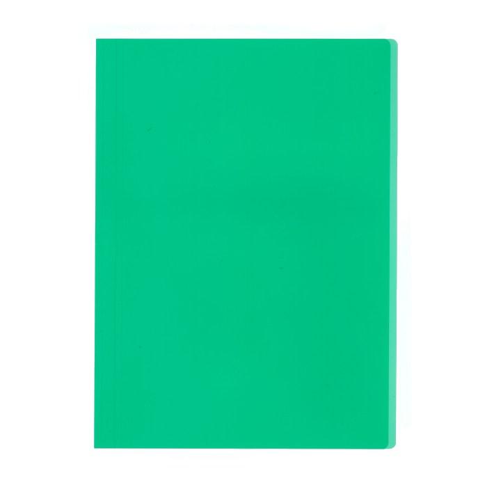 プラス カラーレール式クリアーホルダー 表紙単品 93−102 グリーン