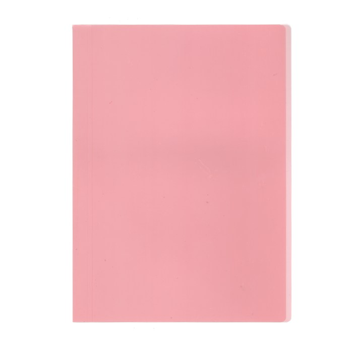 プラス カラーレール式クリアーホルダー 表紙単品 93−104 レッド