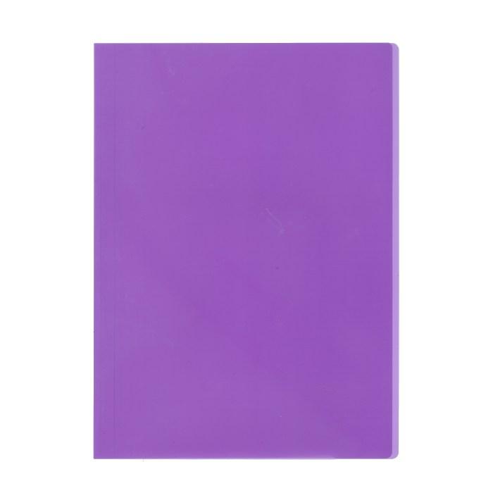 プラス カラーレール式クリアーホルダー 表紙単品 93−105 パープル
