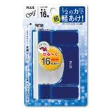 プラス フォース1/2 S 30−693 ブルー│ファイル 穴あけパンチ