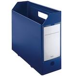 プラス(PLUS) PPボックスファイル 76−005 FL-125BF ネイビー