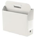 プラス(PLUS) PPキャリーボックス+ 76122 ホワイト│ファイル ボックスファイル