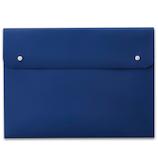 プラス(PLUS) ポケット付エンベロープ A3‐E ブルー